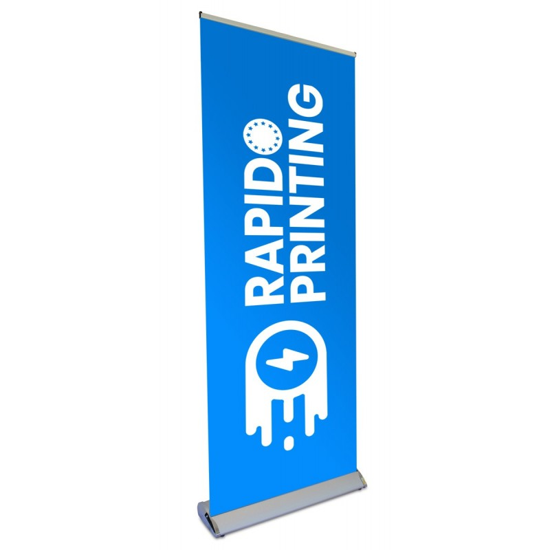 Stand publicitaire luxe roll-up Luxe 85x200cm