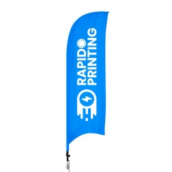 Impression voile beach flag pas cher