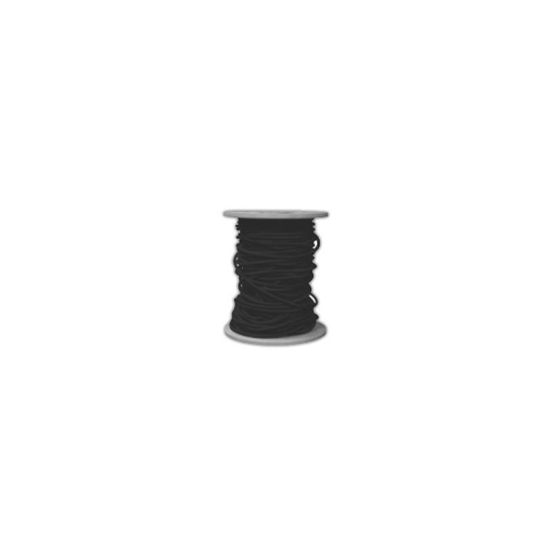 Sandow cordon élastique noir diamètre 8mm fixation bache